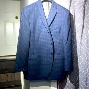 Austin Reed  blue houndstooth sports jacket